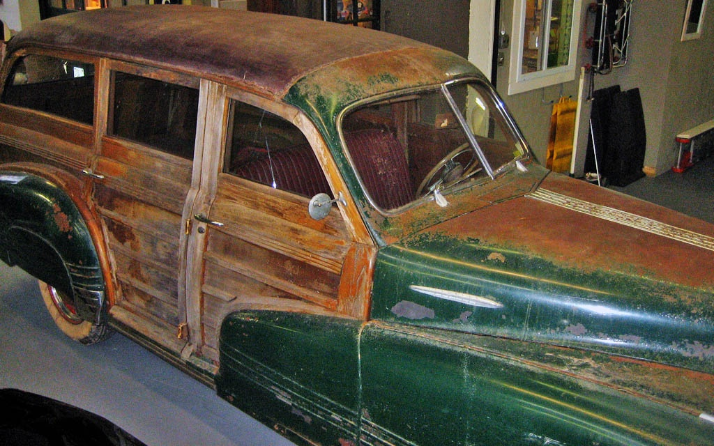 Pontiac Woodie Project