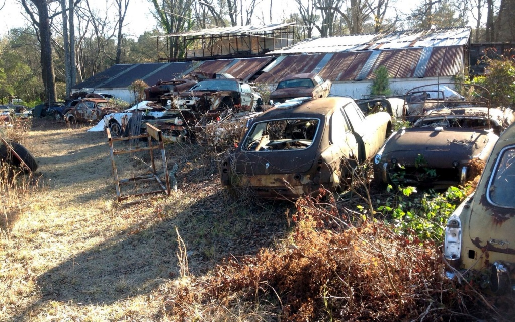 Rusty Barn Finds