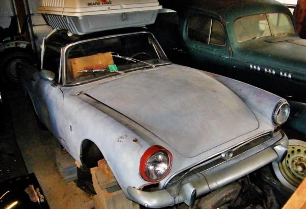 Sunbeam Alpine Parts Car
