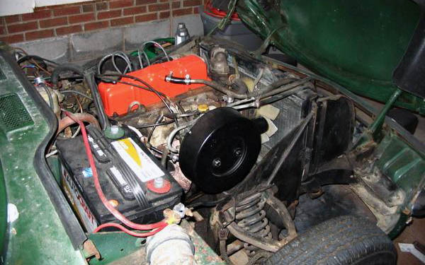 Triumph Spitfire Engine