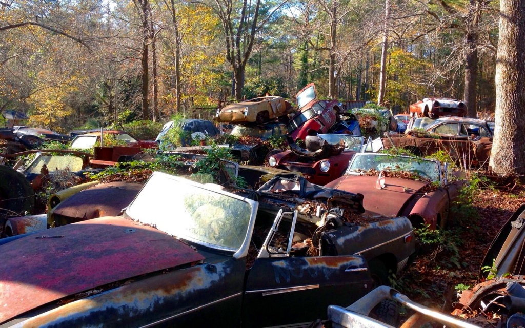 Yardfull of Barn Finds