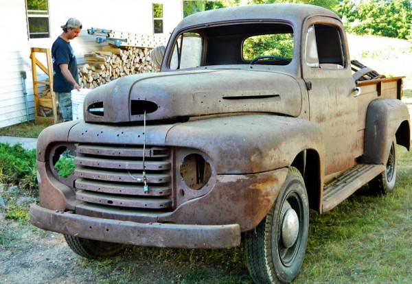1948 Ford F3 Out of the Barn