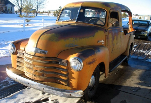 1949 Chevy 3100 Canopy Express
