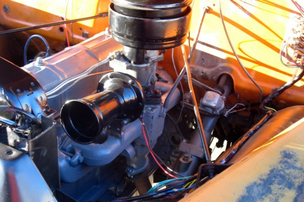 1949 Chevy Canopy Express Engine