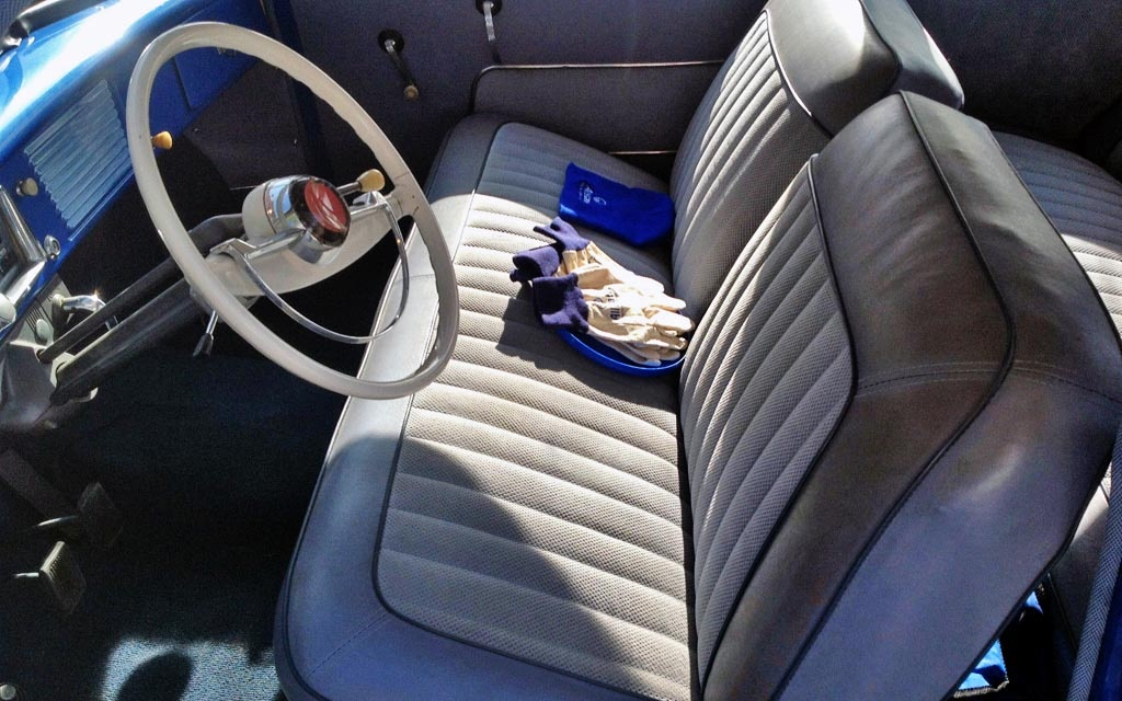1953 Allstate Interior