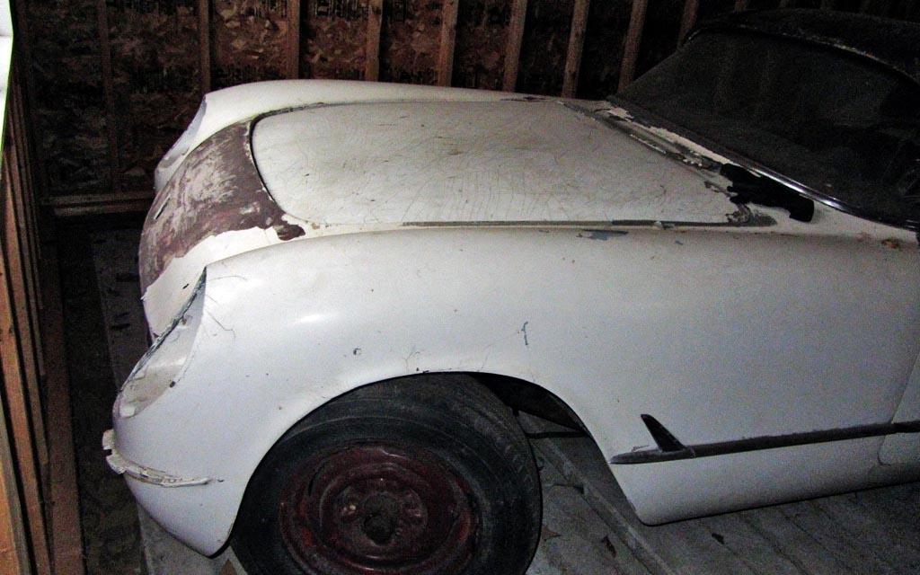 1953 Corvette Nose