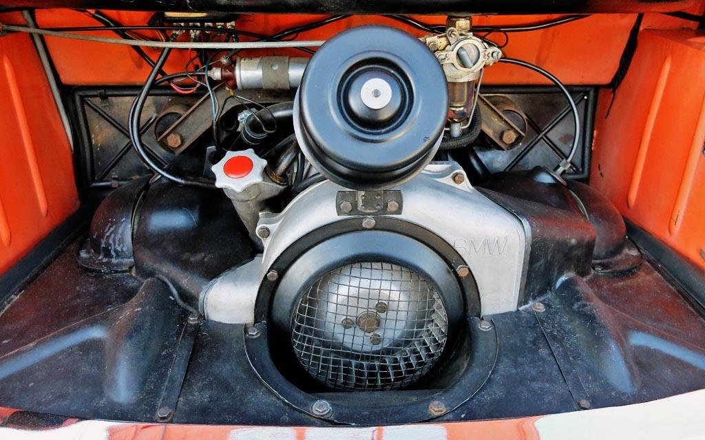 1958 BMW Isetta 600 Engine