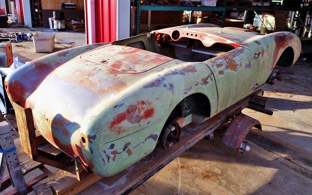 1958 Berkeley SE328 Body