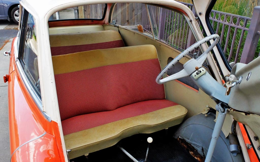 1958 Isetta 600 Interior