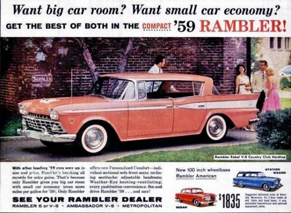 1959 AMC Rambler Ad