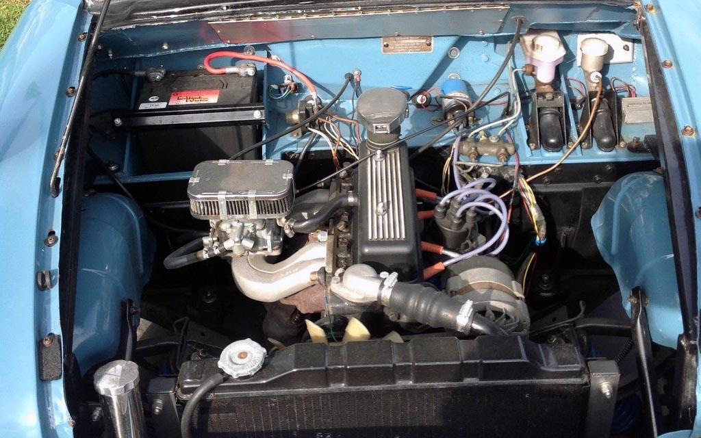 1959 Triumph 10 Wagon Engine