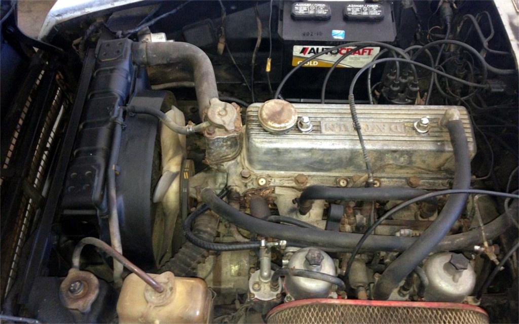 1969 Datsun 1600 Engine