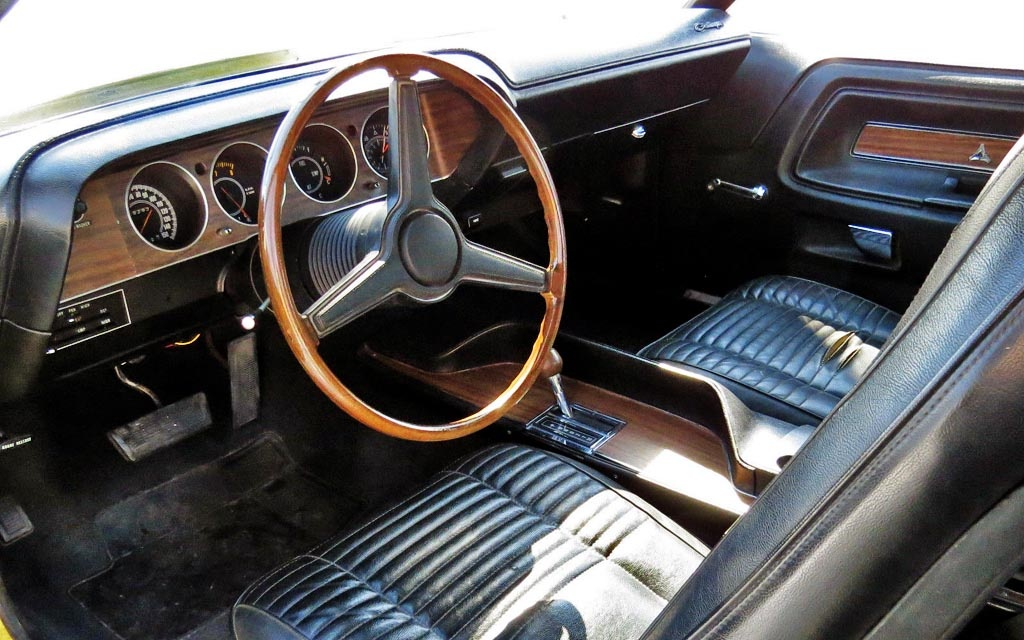 1970 Dodge Challenger RT Hemi Interior
