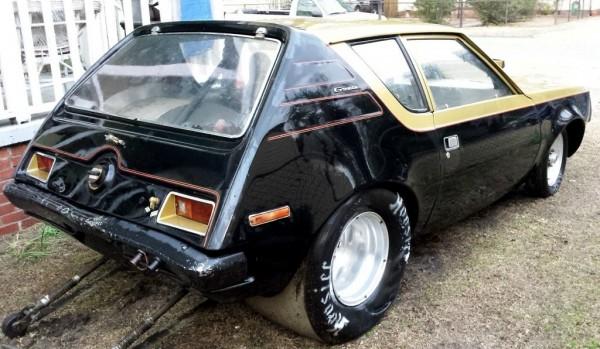 1971 AMC Gremlin Wheelie Bars