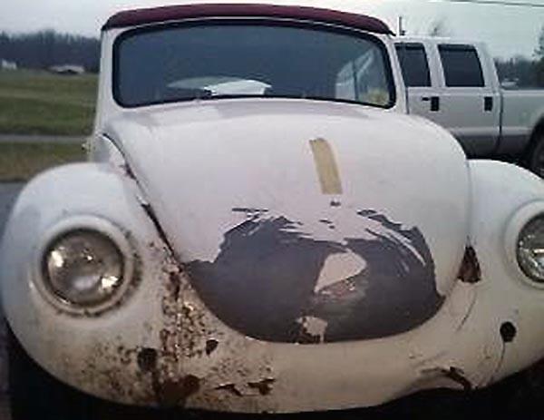 1974 VW Beetle Convertible