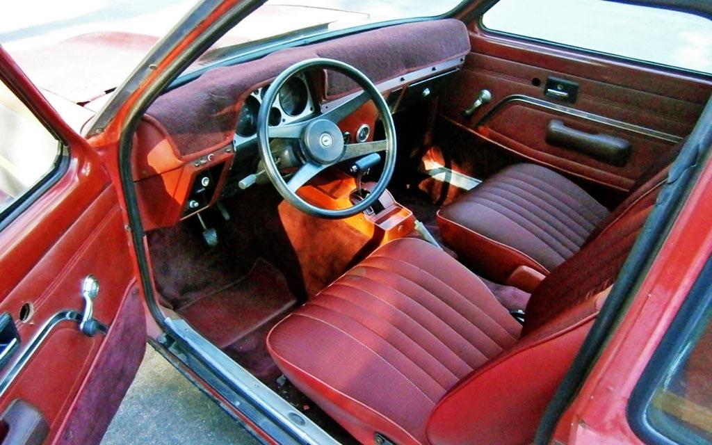 1976 Chevette Interior
