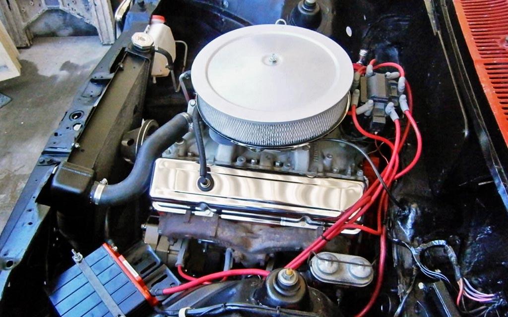 1976 Chevette V8 Engine
