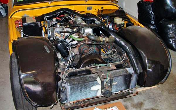 1976 TVR 2500M Engine