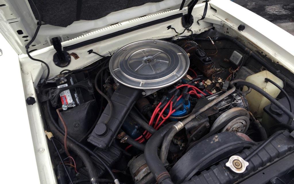 1978 Mustang Ghia Engine
