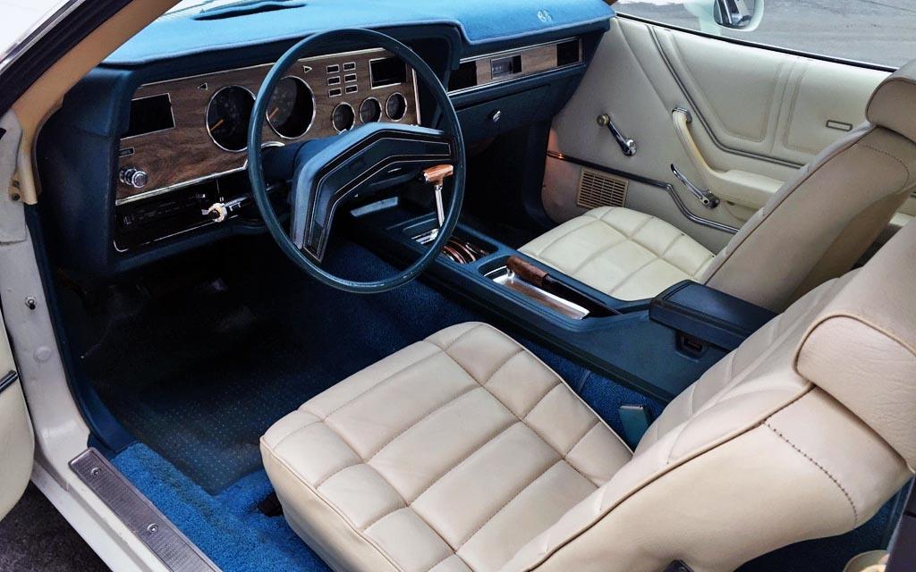 1978 Mustang Ghia Interior