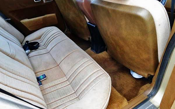 1980 Rover SD1 Back Seat