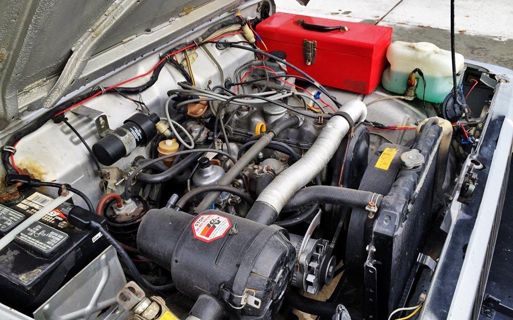 1985 Suzuki Samurai Engine