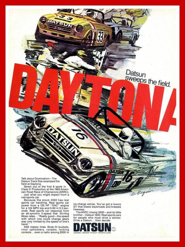 Datsuns at Daytona