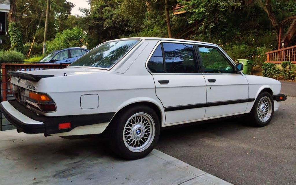 Jeff's '87 BMW 535is