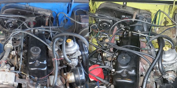 MGB engines