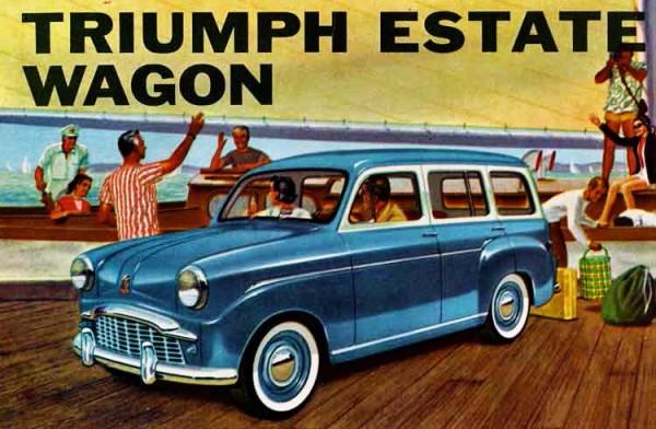 Triumph Estate Wagon Ad