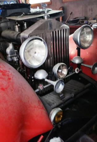 1934 Rolls-Royce Grille
