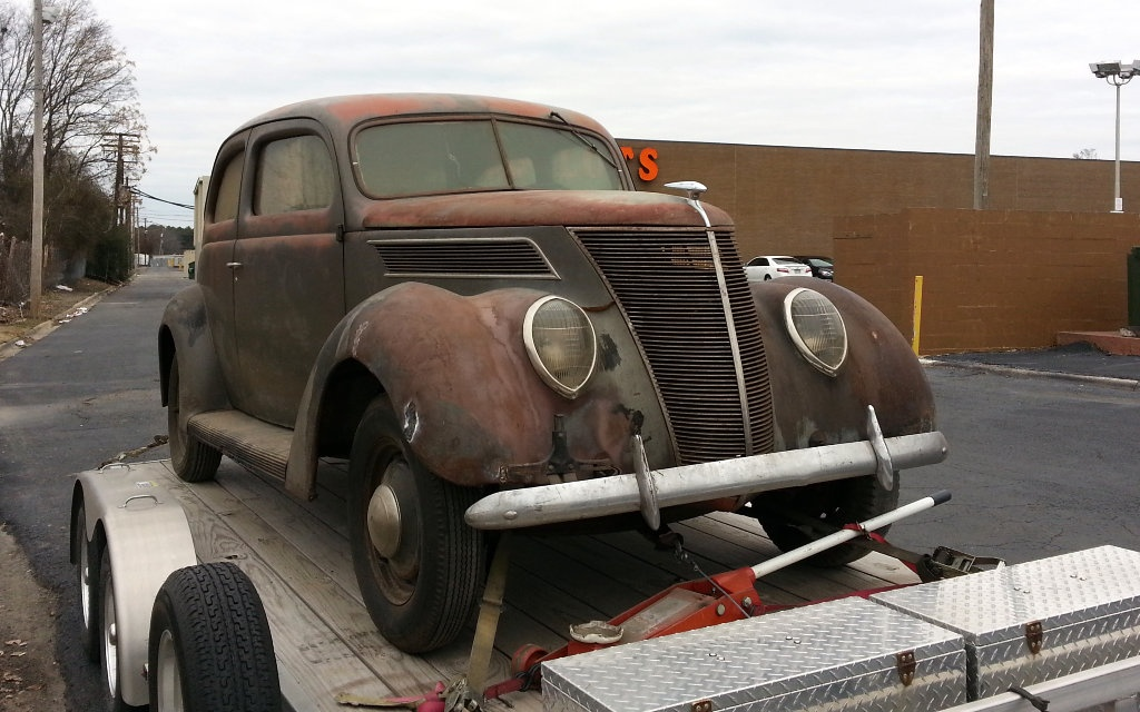 1937 Ford Two Door