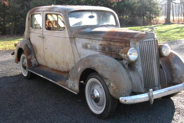 1937 Packard Club Sedan