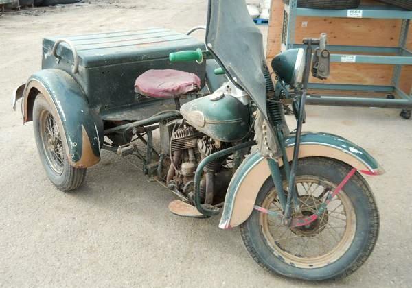 1940s Harley Davidson Servi-Car