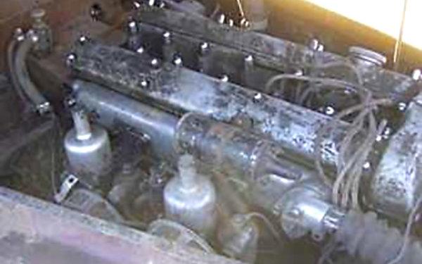 1950 Jaguar XK120 Engine