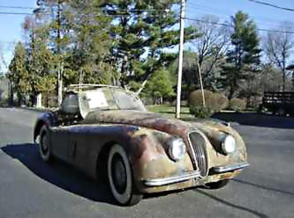 1950 Jaguar XK120 Project