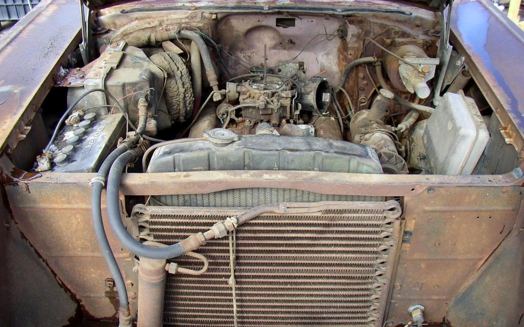 1957 Chevrolet Bel Air Engine