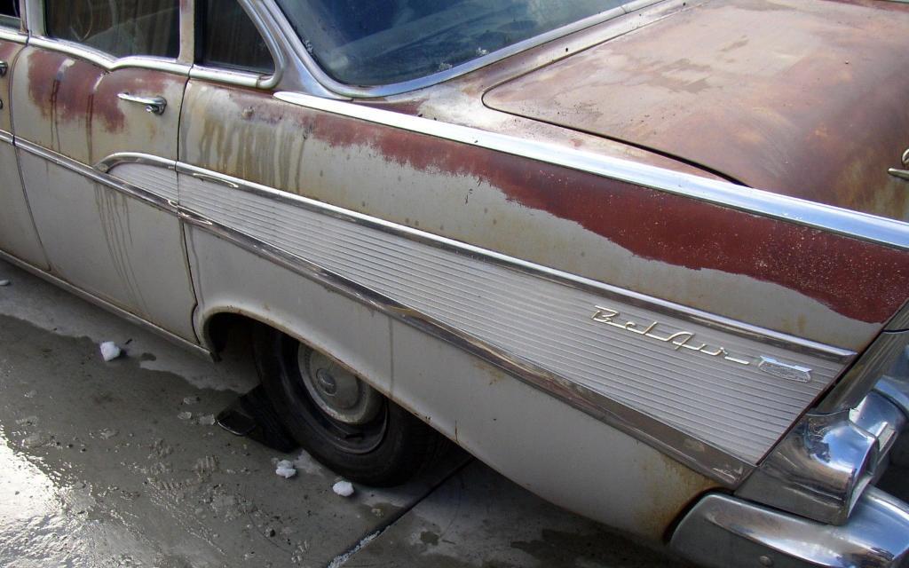 1957 Chevy 4 Door