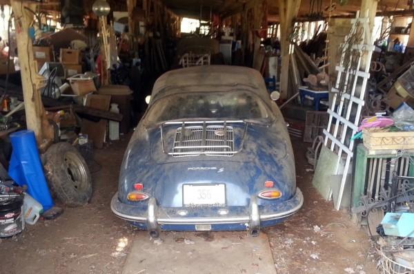1962 Porsche 356S Cabriolet