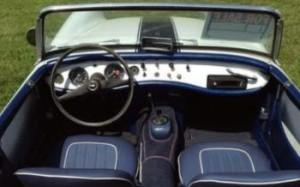 1964 Austin Healey Sprite Interior