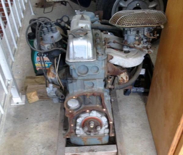 1965 Triumph Spitfire Engine