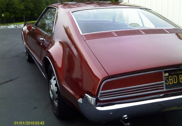 1966 Oldsmobile Toronado Rear View