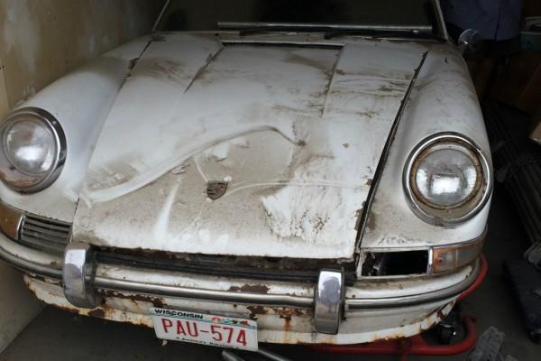 1967 Porsche 912 barn find