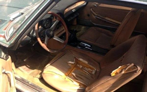 1968 Fiat Dino Coupe Interior