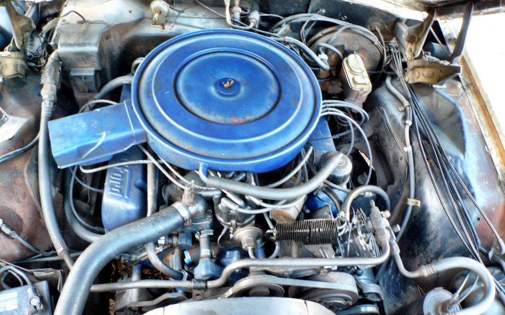 1969 Ford Thunderbird Engine