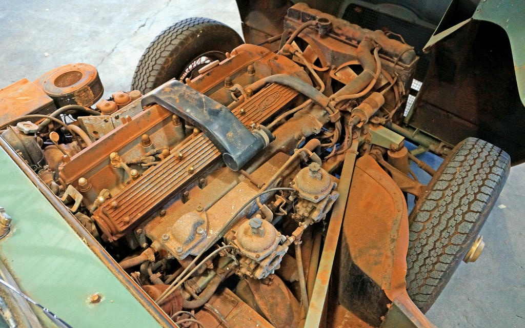 1970 Jaguar E-Type Engine