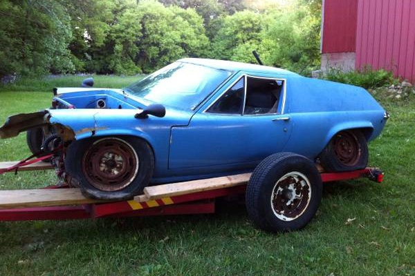 1970 Lotus Europa Project