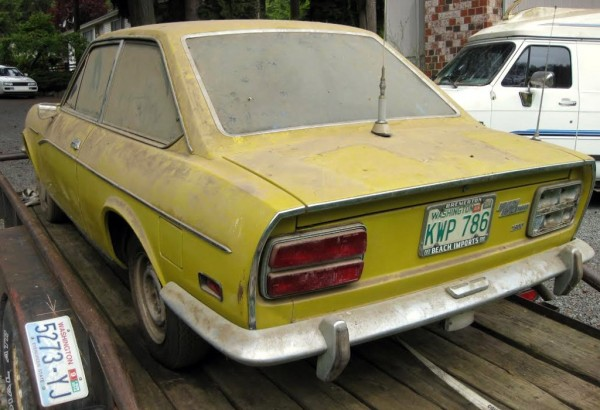 1972 Fiat 124 Coupe