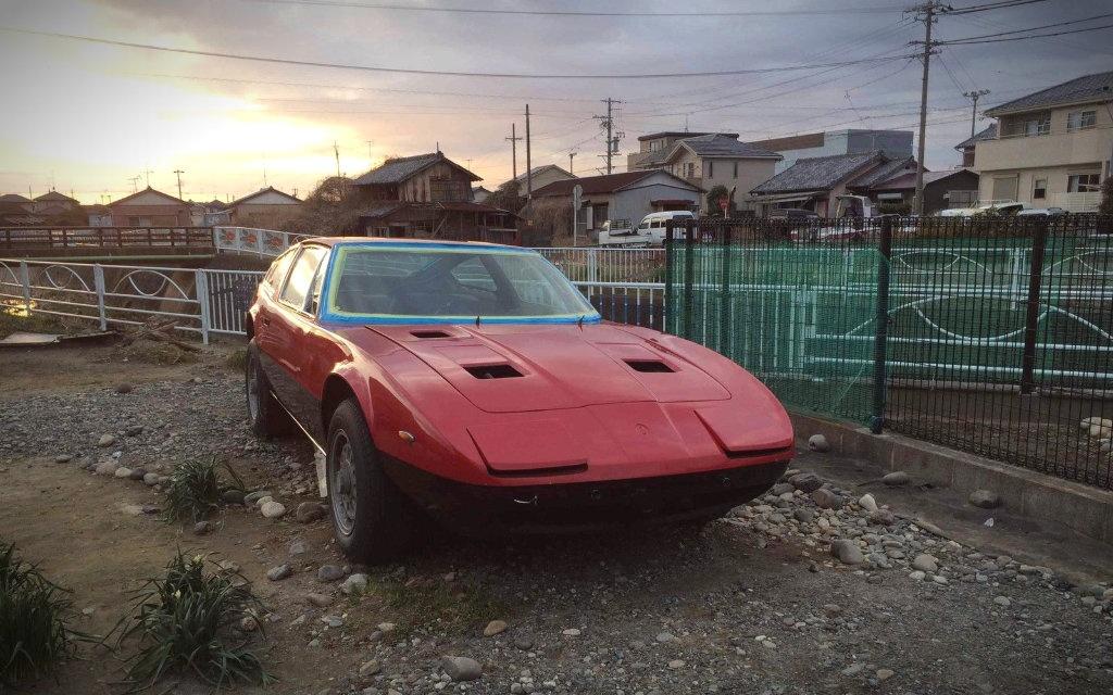 1973 Maserati Indy Coupe
