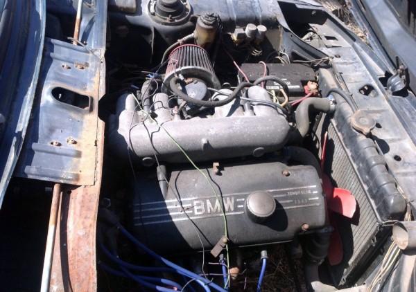 1974 BMW 2002 Tii Engine